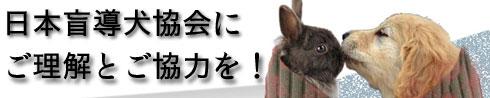 日本盲導犬協会に、ご理解とご協力をお願いします
